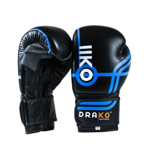 Drako Bulls Eye Leather Bag Gloves; boxing gloves