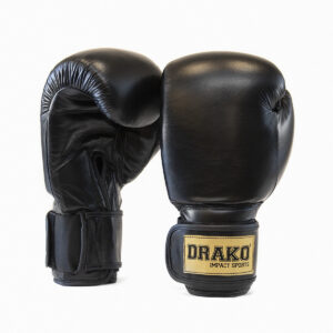 Drako Classic Leather Boxing Gloves; boxing gloves